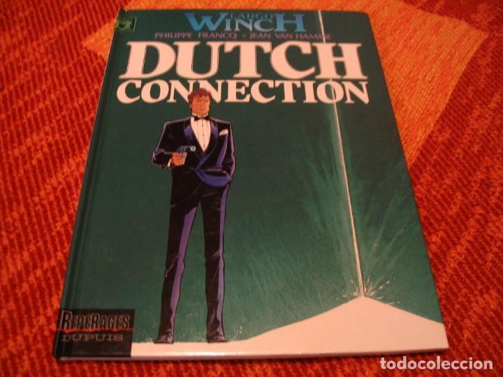 LARGO WINCH 6 EN FRANCÉS DUTCH CONNECTION FRANCQ VAN HAMME DUPUIS TAPA DURA (Tebeos y Comics - Grijalbo - Largo Winch)