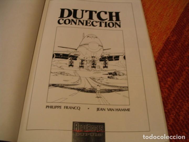 Cómics: LARGO WINCH 6 EN FRANCÉS DUTCH CONNECTION FRANCQ VAN HAMME DUPUIS TAPA DURA - Foto 3 - 238244945