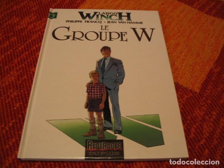 LARGO WINCH 2 EN FRANCÉS LE GROUPE W FRANCQ VAN HAMME DUPUIS TAPA DURA (Tebeos y Comics - Grijalbo - Largo Winch)