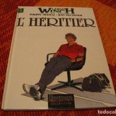 Cómics: LARGO WINCH 1 EN FRANCÉS L´ HERITIER W FRANCQ VAN HAMME DUPUIS TAPA DURA. Lote 238245445