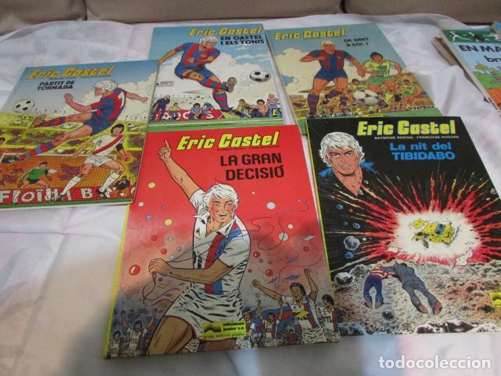 ERIC CASTEL Nº 1 - 2 - 4 - 7 - 8 (Tebeos y Comics - Grijalbo - Eric Castel)