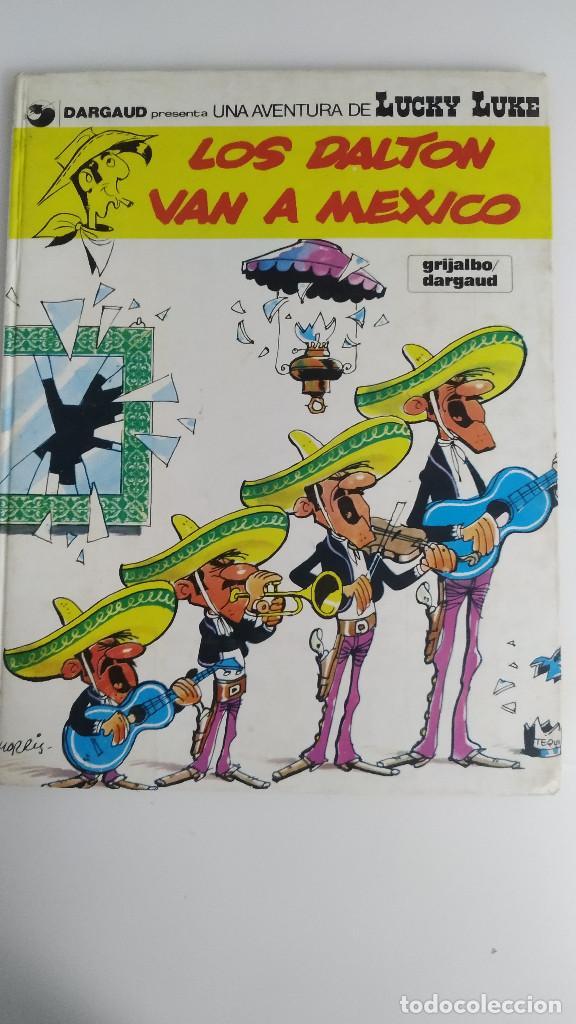 LUCKY LUKE Nº 8 - LOS DALTON VAN A MEXICO - DARGAUD GRIJALBO 1985 (Tebeos y Comics - Grijalbo - Lucky Luke)
