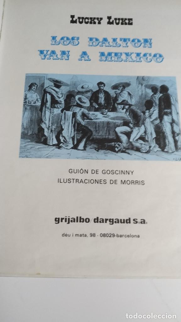 Cómics: LUCKY LUKE Nº 8 - LOS DALTON VAN A MEXICO - DARGAUD GRIJALBO 1985 - Foto 6 - 238396600