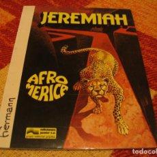 Cómics: JEREMIAH 7 AFROMÉRICA HERMANN JUNIOR TAPA BLANDA. Lote 238422100