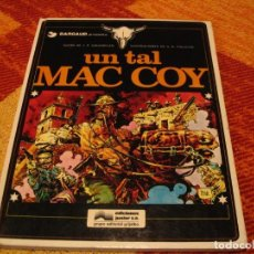 Cómics: UN TAL MAC COY GOURMELEN PALACIOS DARGAUD TAPA DURA. Lote 238424925