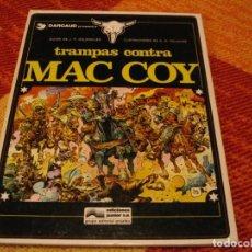 Cómics: TRAMPAS CONTRA MAC COY GOURMELEN PALACIOS DARGAUD TAPA DURA. Lote 238425025