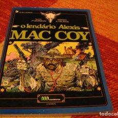 Cómics: O LENDÁRIO ALEXIS MAC COY ( EN PORTUGUÉS ) GOURMELEN PALACIOS DARGAUD TAPA BLANDA. Lote 238425555
