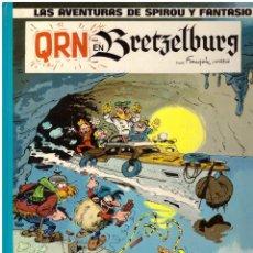 Comics : LAS AVENTURAS DE SPIROU Y FANTASIO, Nº 14: QRN EN BRETZELBURG - JUNIOR GRIJALBO, 1985. Lote 238481045