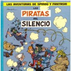 Comics : LAS AVENTURAS DE SPIROU Y FANTASIO Nº 8: LOS PIRATAS DEL SILENCIO Y EL SUPER QUICK - JUNIOR GRIJALBO. Lote 238481190