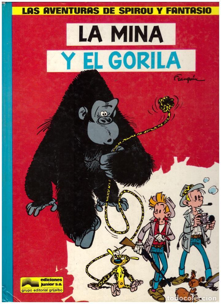 LAS AVENTURAS DE SPIROU Y FANTASIO Nº 9: LA MINA Y EL GORILA - JUNIOR GRIJALBO, AÑO 1982 (Tebeos y Comics - Grijalbo - Spirou)