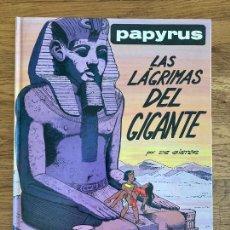 Cómics: PAPYRUS 9 - LAS LAGRIMAS DEL GIGANTE - GRIJALBO - TAPA DURA - GCH. Lote 238556170