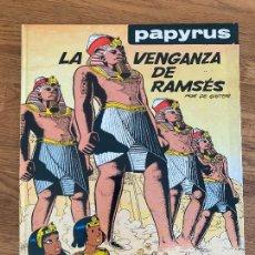 Cómics: PAPYRUS 7 - LA VENGANZA DE RAMSES - GRIJALBO - TAPA DURA - GCH. Lote 238556420