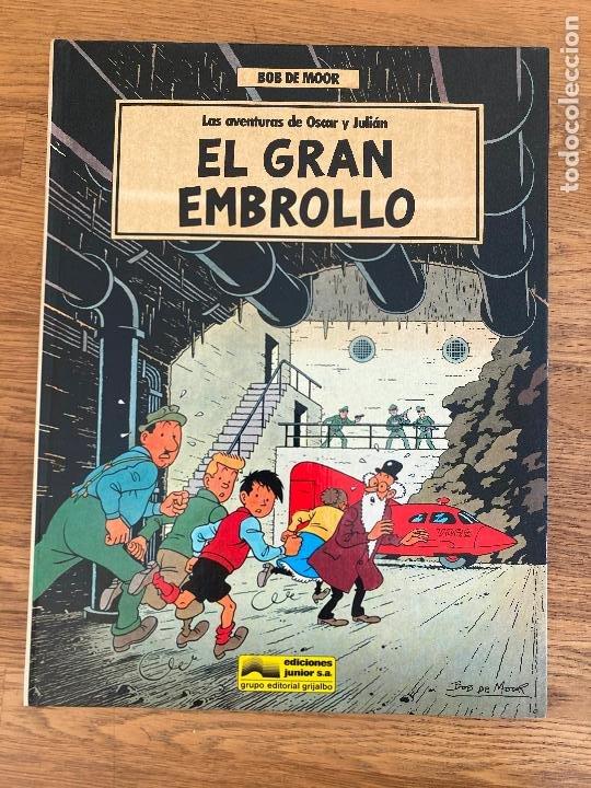 LAS AVENTURAS DE OSCAR Y JULIAN 1 / EL GRAN EMBROLLO - BOB DE MOOR - GRIJALBO - TAPA DURA - GCH (Tebeos y Comics - Grijalbo - Otros)