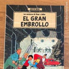 Fumetti: LAS AVENTURAS DE OSCAR Y JULIAN 1 / EL GRAN EMBROLLO - BOB DE MOOR - GRIJALBO - TAPA DURA - GCH. Lote 238557645
