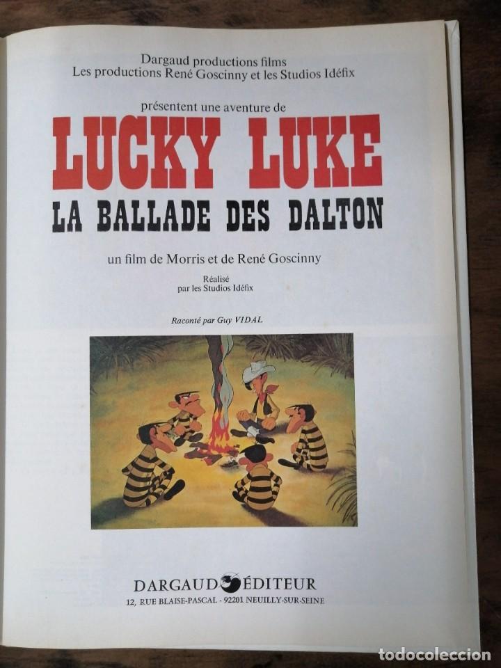 Cómics: Lucky Luke - La ballade des Dalton, un film-1978 - Foto 2 - 238891135