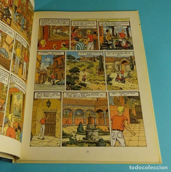 Cómics: LA CRIPTA. LEFRANC Nº 9. CÓMIC DE J. MARTIN & G. CHAILLET. GRIJALBO 1988 - Foto 2 - 238916335