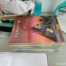 Comics : X PERCEVAN 1 A 13 (COMPLETA), DE FAUCHE, LETURGIE Y LUGUY (GRIJALBO) TODOS CARTONE (TAPA DURA). Lote 239380635