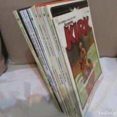 Comics : LLOTE KIRK -MAC COY - BLUEBERRY - LOS GRINGOS - DURANGO. Lote 239464615