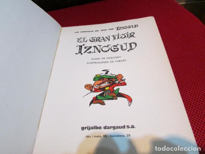 Cómics: EL GRAN VISIR IZNOGUD - Foto 3 - 239470845