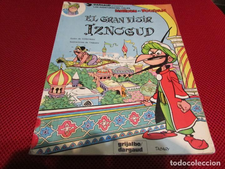 EL GRAN VISIR IZNOGUD (Tebeos y Comics - Grijalbo - Iznogoud)