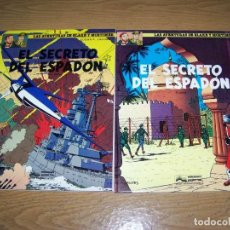 Cómics: JUNIOR GRIJALBO BLAKE Y MORTIMER EL SECRETO DEL ESPADON COMPLETA 3 TOMOS. Lote 239478355