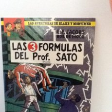Cómics: LAS AVENTURAS DE BLAKE Y MORTIMER . LAS 3 FORMULAS DEL PROFESOR SATO .2º PARTE .. Lote 239548705