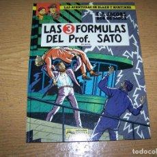 Cómics: GRIJALBO BLAKE Y MORTIMER 12 LAS 3 FORMULAS DEL PROF. SATO 2ª PARTE. Lote 239686755