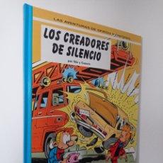 Cómics: SPIROU Y FANTASIO - LOS CREADORES DEL SILENCIO - NIC Y CAUVIN - N°45 GRIJALBO JUNIOR. Lote 239756425