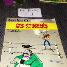 Cómics: ANTIGUO CÓMIC FRANCÉS FRANCIA LUCKY LUKE 29 AÑO 1970 VER FOTOS ESTADO LOMOS CASTIGADOS VER FOTOS INT. Lote 239766615