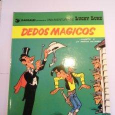 Cómics: LUCKY LUKE - DEDOS MAGICOS - GRIJALBO/DARGAUD - 1984 - ESTADO PERFECTO. Lote 239868245