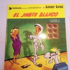 Cómics: LUCKY LUKE - EL JINETE BLANCO - GRIJALBO/DARGAUD - 1990 - ESTADO PERFECTO. Lote 239869525