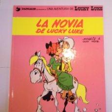 Cómics: LUCKY LUKE - LA NOVIA DE LUCKY LUKE - GRIJALBO/DARGAUD - 1992 - ESTADO PERFECTO. Lote 239869810