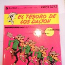 Cómics: LUCKY LUKE - EL TESORO DE OS DALTON - GRIJALBO/DARGAUD - 1991 - ESTADO PERFECTO. Lote 239872555