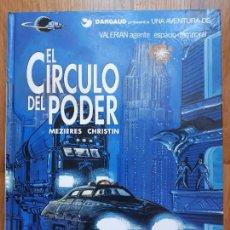 Cómics: EL CÍRCULO DEL PODER - VALERIAN Nº 15 - MEZIERES Y CHRISTIN. Lote 240160115