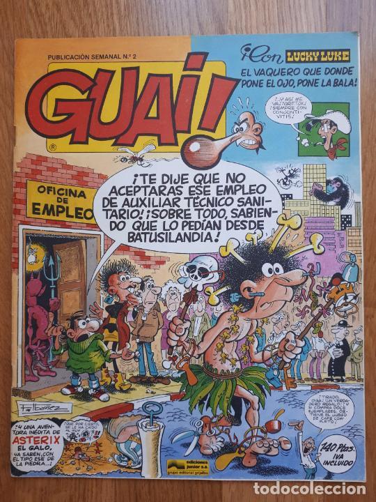 Cómics: Guai! - Lote con 14 ejemplares (2,3,4,5,6,7,8,9,10,22,27,38,130,161) - Foto 2 - 240592965