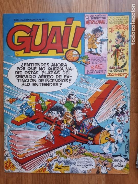 Cómics: Guai! - Lote con 14 ejemplares (2,3,4,5,6,7,8,9,10,22,27,38,130,161) - Foto 4 - 240592965