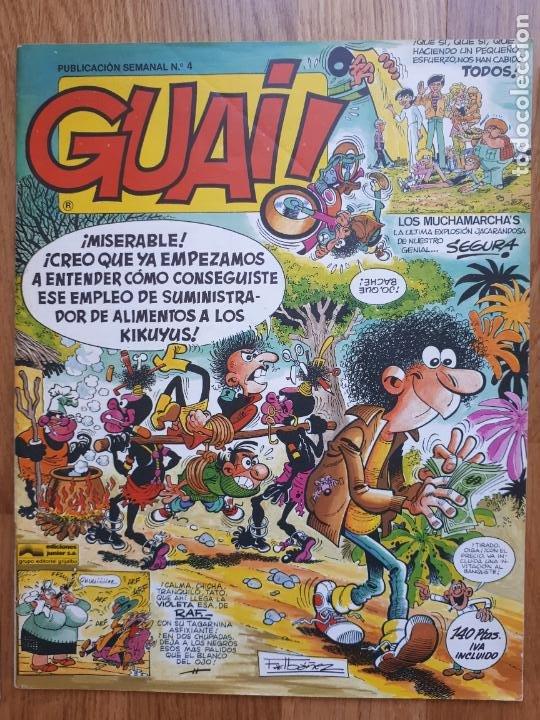 Cómics: Guai! - Lote con 14 ejemplares (2,3,4,5,6,7,8,9,10,22,27,38,130,161) - Foto 5 - 240592965