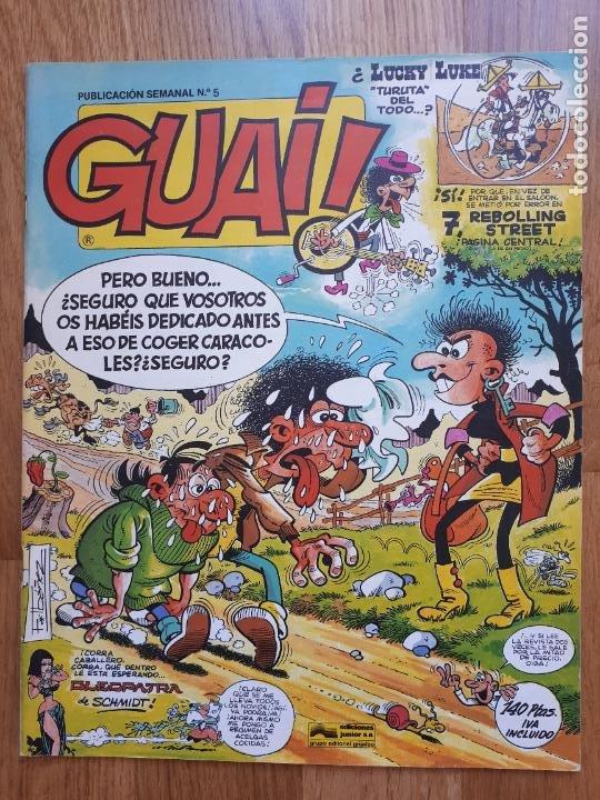 Cómics: Guai! - Lote con 14 ejemplares (2,3,4,5,6,7,8,9,10,22,27,38,130,161) - Foto 6 - 240592965