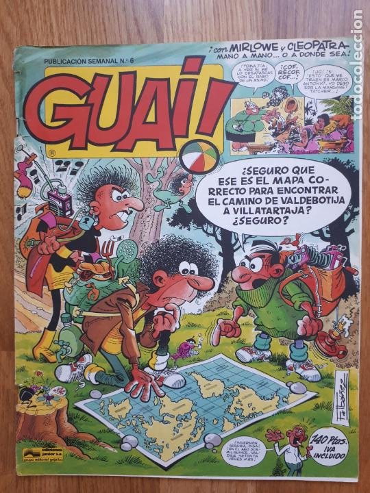 Cómics: Guai! - Lote con 14 ejemplares (2,3,4,5,6,7,8,9,10,22,27,38,130,161) - Foto 7 - 240592965
