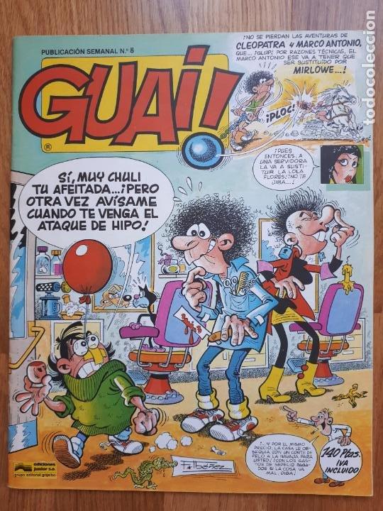 Cómics: Guai! - Lote con 14 ejemplares (2,3,4,5,6,7,8,9,10,22,27,38,130,161) - Foto 10 - 240592965