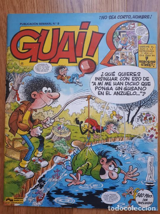 Cómics: Guai! - Lote con 14 ejemplares (2,3,4,5,6,7,8,9,10,22,27,38,130,161) - Foto 11 - 240592965
