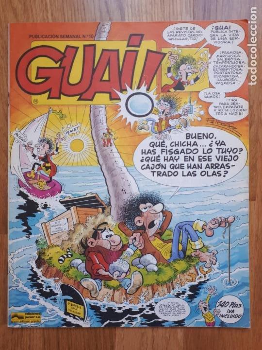 Cómics: Guai! - Lote con 14 ejemplares (2,3,4,5,6,7,8,9,10,22,27,38,130,161) - Foto 12 - 240592965