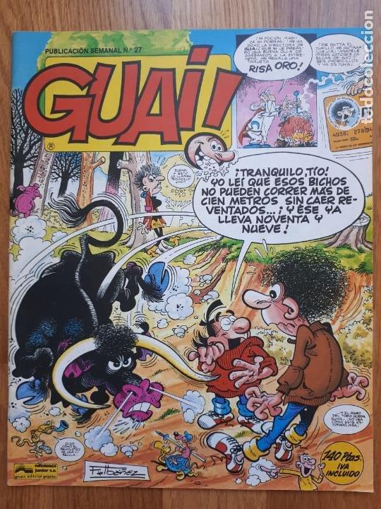 Cómics: Guai! - Lote con 14 ejemplares (2,3,4,5,6,7,8,9,10,22,27,38,130,161) - Foto 14 - 240592965