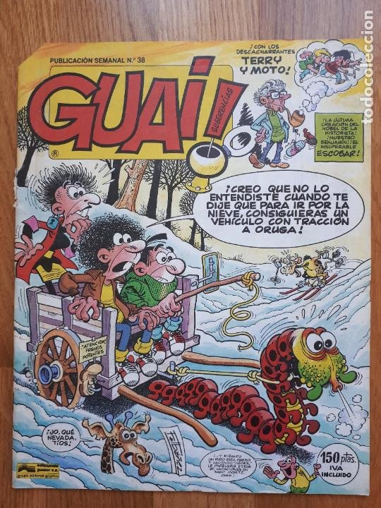 Cómics: Guai! - Lote con 14 ejemplares (2,3,4,5,6,7,8,9,10,22,27,38,130,161) - Foto 15 - 240592965