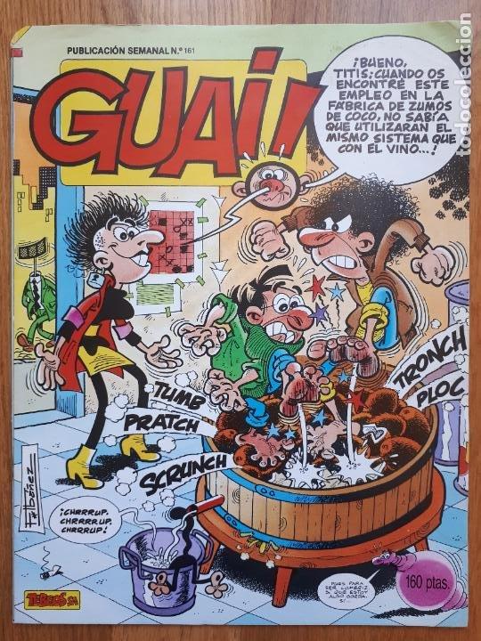 Cómics: Guai! - Lote con 14 ejemplares (2,3,4,5,6,7,8,9,10,22,27,38,130,161) - Foto 17 - 240592965