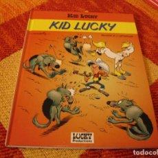 Cómics: KID LUCKY ( EN FRANCÉS ) LUCKY PRODUCTIONS LUCKY LUKE MORRIS. Lote 240645485