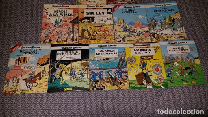 CASACAS AZULES GRIJALBO CAUVIN LAUVERIUS LAMBIL COLECCION COMPLETA 11 COMICS 2 DE LA SERIE NOVARO (Tebeos y Comics - Grijalbo - Otros)