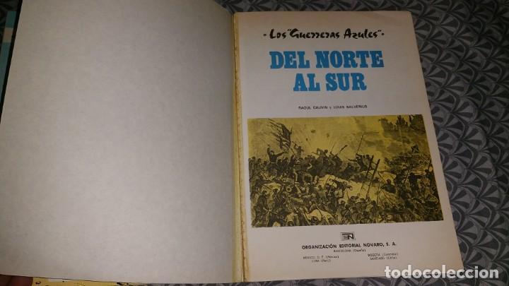 Cómics: CASACAS AZULES GRIJALBO Cauvin Lauverius Lambil COLECCION COMPLETA 11 COMICS 2 DE LA SERIE NOVARO - Foto 5 - 240817330