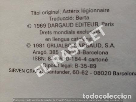Cómics: LES AVENTURES D ASTERIX VOLUMEN 7 - EDITADO EN CATALAN - Foto 2 - 241065125
