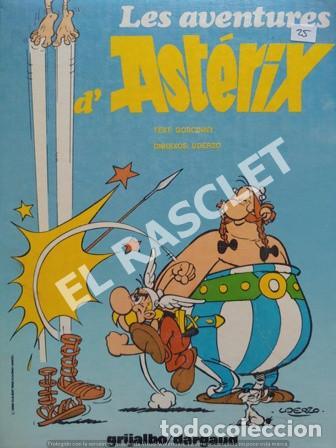 LES AVENTURES D' ASTERIX - VOLUMEN 5 - EDITADO EN CATALAN (Tebeos y Comics - Grijalbo - Asterix)